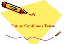 Bài tập thì tương lai tiếp diễn