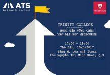 Trinity – Bước đệm vững chắc vào Đại học Melbourne